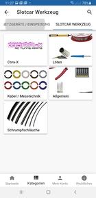GOKarli Slotcar Werkzeug- Sortiment der verschiedenen Hersteller