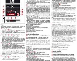 Anleitung Bedienungsanleitung Carrera GO!!!+ Plus Anschlussschiene