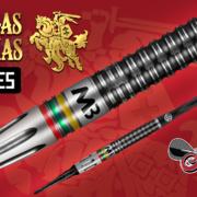 Shot Steel Darts Soft Darts Mindaugas Barauskas Pro Series 90% Steeltip Steeldart Softtip Softdart 20-25 g