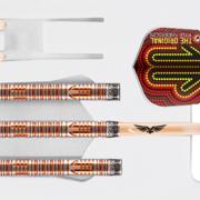 Shot Steel Darts Kyle Anderson Desert Boomer 80% Tungsten Steeltip Darts Steeldart 23-24-25-26 g