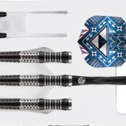 Shot Steel Darts Tribal Weapon Koa 90% Tungsten Steeltip Darts Steeldart 23-23-24-25-26 g