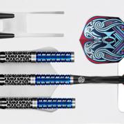 Shot Steel Darts Boris Koltsov Viking Raven 90% Tungsten Steeltip Darts Steeldart 2021 22-25 g
