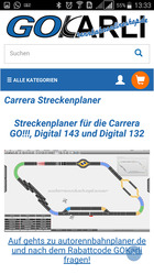 GOKarli App Streckenplaner