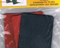 Ersatzpads Reifenschleifmaschine Proses TC-401 6 Stück
