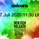 unicorn Dart Launch 2021 27. Juli 2020 Neuheiten 2020 / 2021