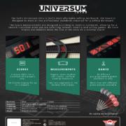 BULL'S NL Dartautomat Universum Elektronische Dartscheibe Universum Intro