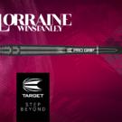 Target Soft Darts Lorraine Winstanley 90% Tungsten Softtip Darts Softdart 2019 18 g Werbebanner