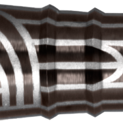 Shot Steel Darts Warrior Rutene 90% Tungsten Steeltip Darts Steeldart 22-26 g
