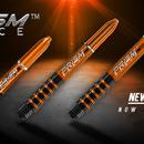 Winmau Neuheit 2018 / 2019 Winmau Prism Force Shafts neue Farbe Orange und neue Größe IM Intermediate