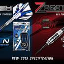 Winmau Neuheit 2018 / 2019 Winmau Vanquish Titanium Nitrid Coated und Zagato Onyx Coated 90 % Tungsten Steeldart Steeltip
