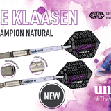 Unicorn World Champion Natural Jelle Klaasen Steel und Soft Dart Steeldart Softdart 2018
