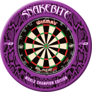 Red Dragon Surround Peter Wright Snakebite World Champion Edition Dartboard Surround / Dart Catchring