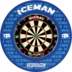 Red Dragon Surround Gerwyn Price ICEMAN Edition Dartboard Surround / Dart Catchring