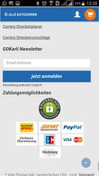 GOKarli App Zahlungsarten