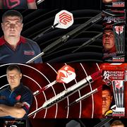 Neue Darts Bulls 2020 Mensur Suljovic, Krzysztof Ratajski, Mike de Decker
