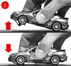 Programmieren Carrera Digital Handregler Schritt 2.