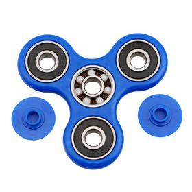 Fidget Hand Spinner offen Blau mit Qualitätskugellager