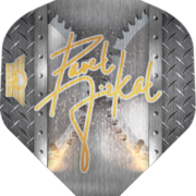 BULL'S Powerflite P Std. Pavel Jirkal Flights Dartflight Heavy Metal Design 1 Art.Nr. 510.BU-50863