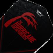 BULL'S NL Powerflite P Std. Kim Huybrechts The Hurricane Flights Dartflight Schwarz BU-50875