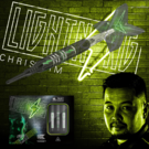 Target Soft Darts Chris Lim Lightning G1 Generation 1 90% 2019 Softtip Darts Softdart 19 g Werbebanner mit Softdart