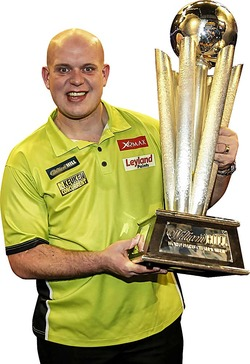 Michael van Gerwen World Champion 2017