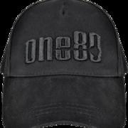 one80 Dart Baseball Cap one80 Fan-Cap bestickt, schwarz, verstellbar