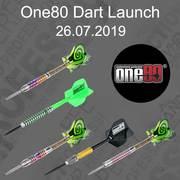 one80 2019 Dart Collection Launch 26.07.2019 one80 Dart News Neuheiten 2019 Chameleon Jade, Coral, Allira, Zircon, Saphire, Michael Barnard, Michell Clegg & Proplast Vice Shafts