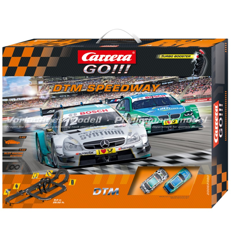 Carrera GO!!! DTM Speedways Set / Grundpackung 62390