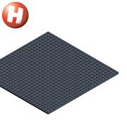 Hubelino Kugelbahn pi Grundplatte Baseplate 26 x 26 cm Lego kompatibel Neuheit 2019