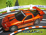 Carrera GO Chevrolet Corvette C5 Tribal mitGround Light Effekt Art.Nr. 61107
