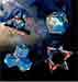 GeoBender® Cube Würfel magnetisches 3D-Puzzle GeoBender Neuheit 2020 World, Bees, Abstract 2, Primary 2