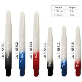 BULLS Dart Spectra Nylon Shaft zwei Längen und drei Farben