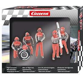 Carrera Figurensatz Mechaniker Carrera Crew rot