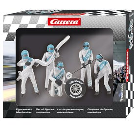 Carrera Figurensatz Mechaniker Carrera Crew silber