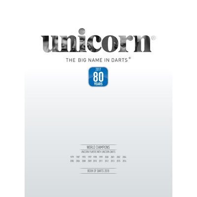 unicorn Book of Darts Haupt- Katlog 2018