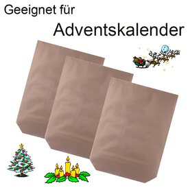 GOKarli Kreuzbodenbeutel Papier Papiertüten Bodenbeutel...