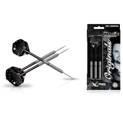 XQMax Yordi Magic Meeuwisse original 90% Tungsten Steel Darts