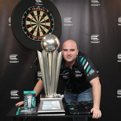 Target Rob Cross Weltmeister World Champion 2018 Steel Dart