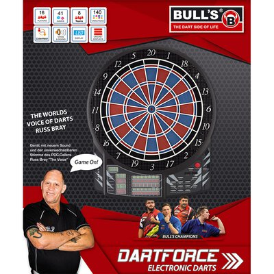 BULLS Dartforce RB Sound Elektronik Dartboard Elektronische Dartscheibe