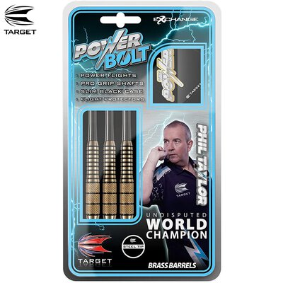 Target Steel Darts Phil Taylor Power Bolt Steeltip Dart Steeldart 22 g