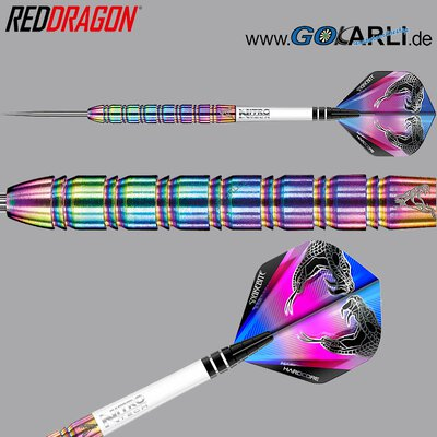 Red Dragon Steel Darts Peter Wright Snakebite 1 Steeltip Dart Steeldart