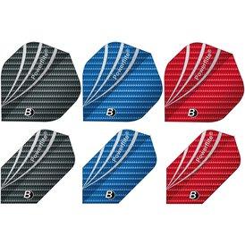 BULLS Dart Powerflite in drei Farben und 2 Formen / Shapes