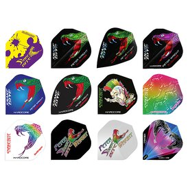 Red Dragon Peter Wright Flights Holographic Dart Flight...