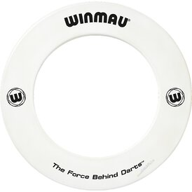 Winmau Dartboard Surround / Dart Catchring Weiß