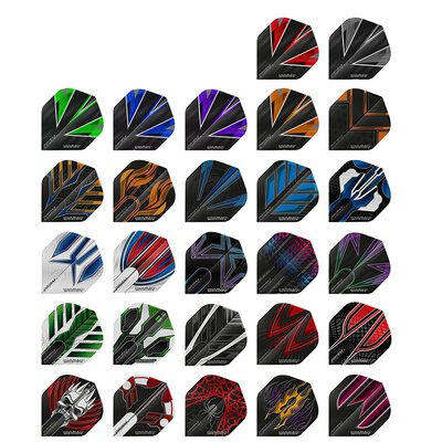 Winmau Prism ALPHA Dart Flight Generation 1 in verschiedenen Designs