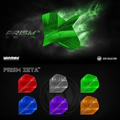 Winmau Prism Zeta Dart Flight in verschiedenen Designs