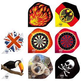 BULLS Motex Dart Flights Standard A-Shape in...