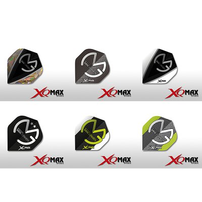XQMax Michael van Gerwen Flight verschiedene Designs