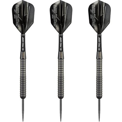 Target Phil Taylor Power 8Zero Black Titanium Steel Dart Steeltip Darts