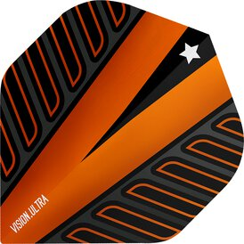 Target Voltage Vision Ultra Dart Flight Nr. 2 Orange Neu...